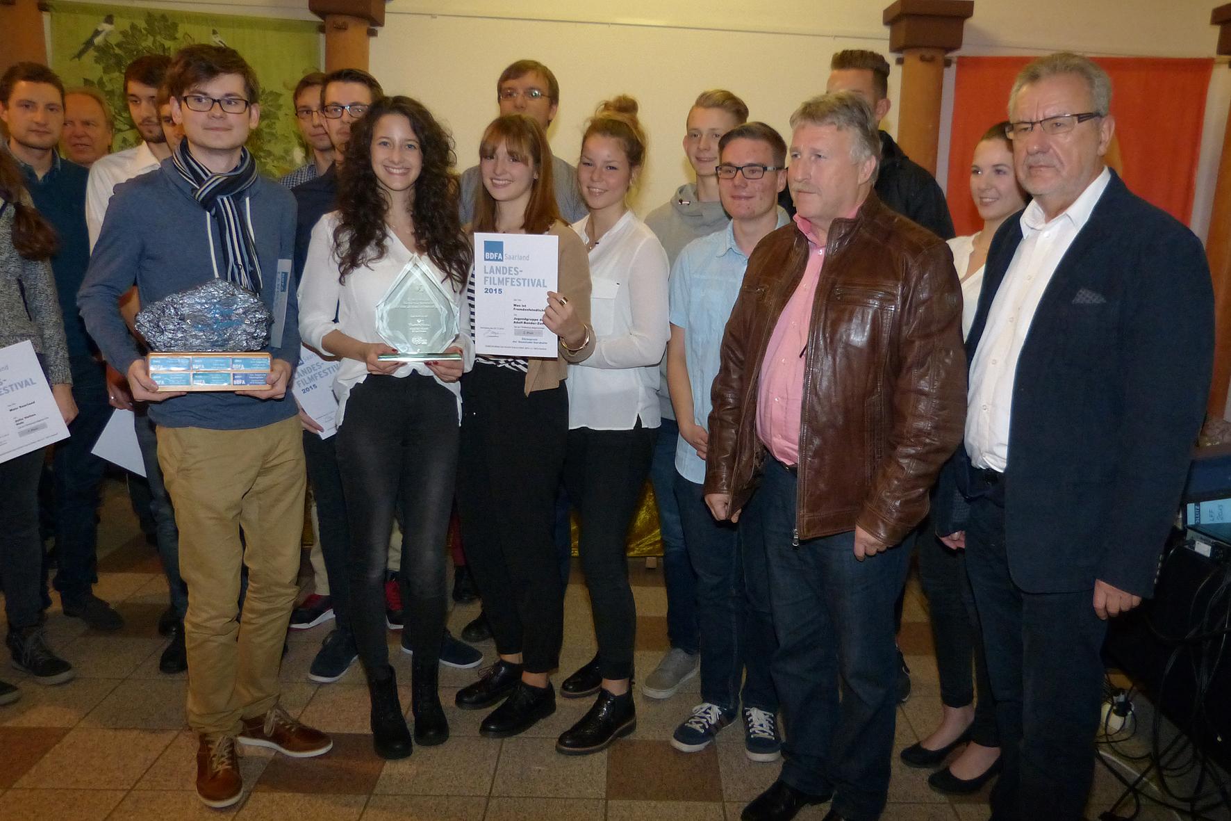 Landesfilmfestival Preisverleihung