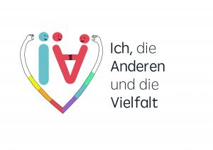 """Logo """"Ich, die Anderen und die Vielfalt"""""""