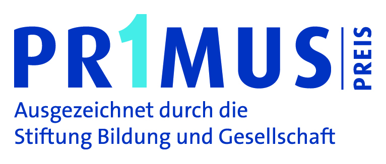 Logo Primus Preis - Ausgezeichnet durch die Stiftung Bildung und Gesellschaft