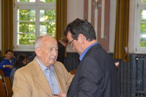 Schwartz und Portz, Vorsitzender des Adolf-Bender-Zentrums.